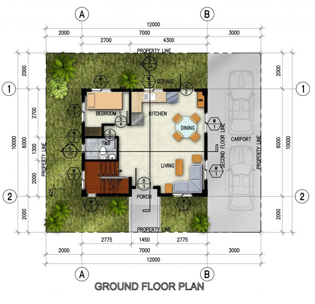 single-detached-ground-floor-plan