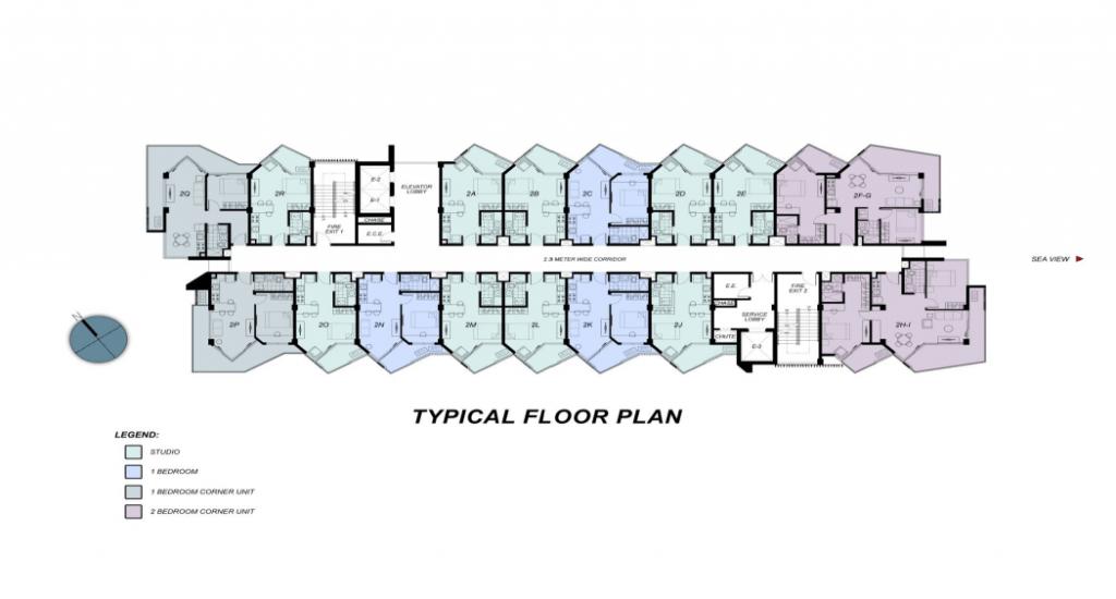 Building A & B Plan
