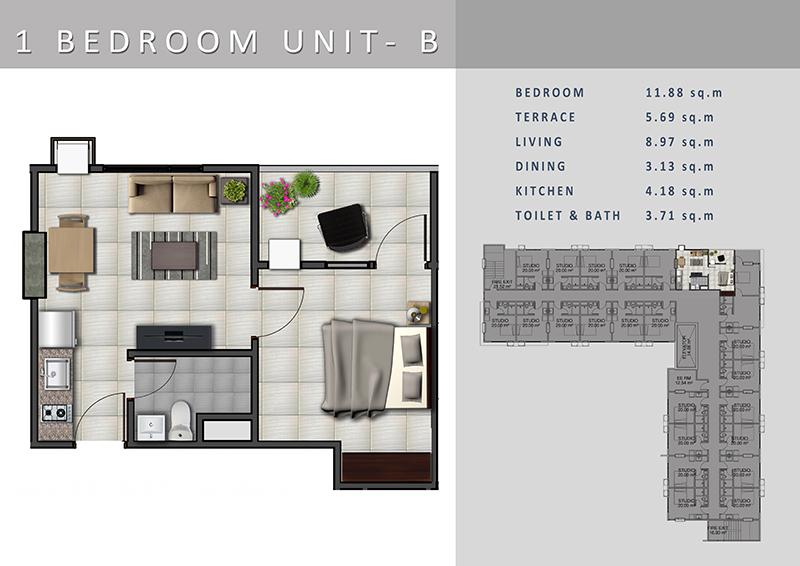 A3-1-BEDROOM-B