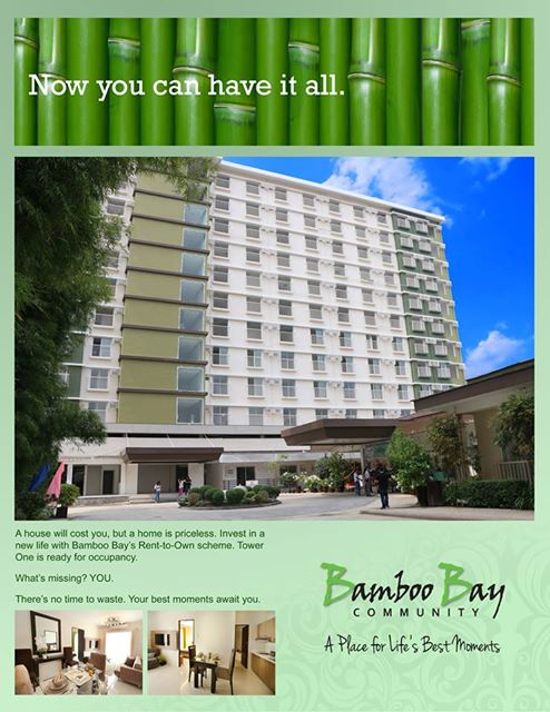 RFO One bedroom bamboo bay residences