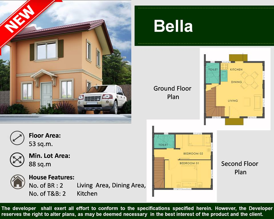 Single Attached House For Sale Camella Homes Dumaguete City