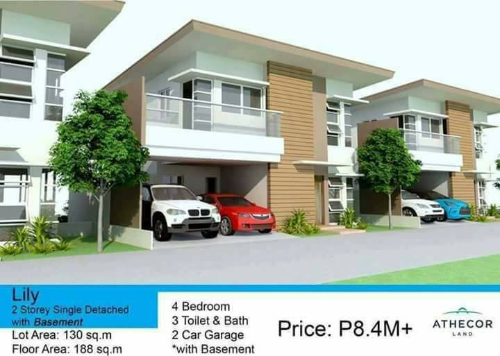Single Detached house w/ basement few units left only