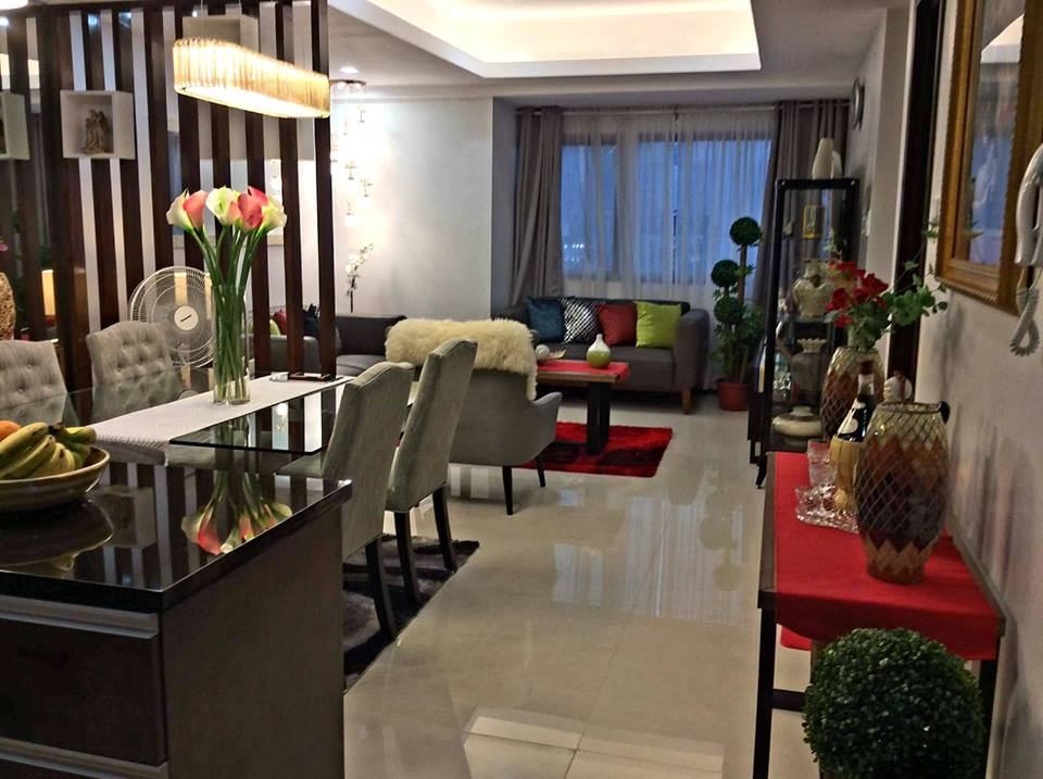 2Bedroom Unit The Address At Wack Wack Mandaluyong City with 2parking slot