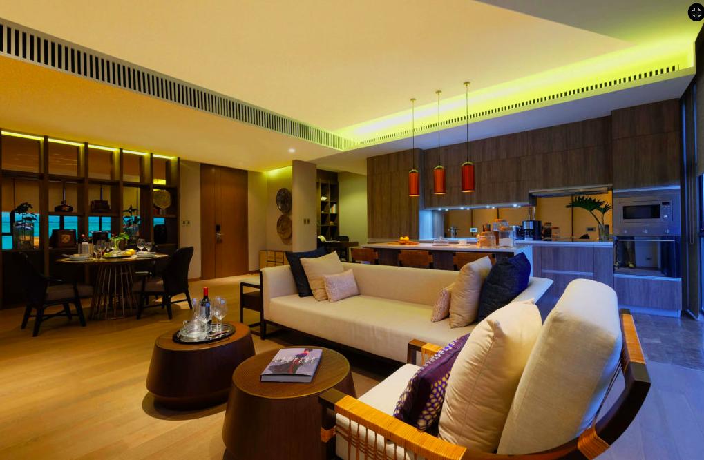Two Bedroom The Residences at Sheraton Cebu Mactan Resort