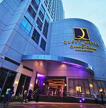 Condotel For Sale Grand Cenia Residences (QUEST HOTEL) across Ayala Center Cebu