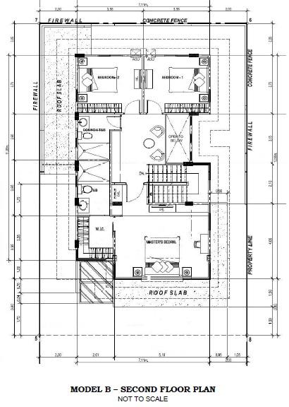 Model B Second Floor