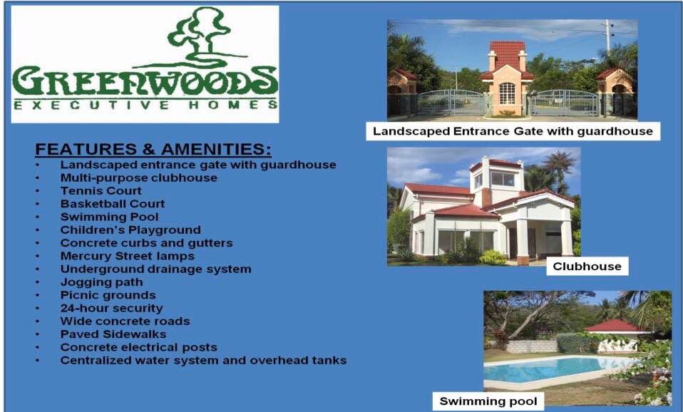 For Sale Residential Lot Greenwoods Executive Homes Pulangbato Cebu City
