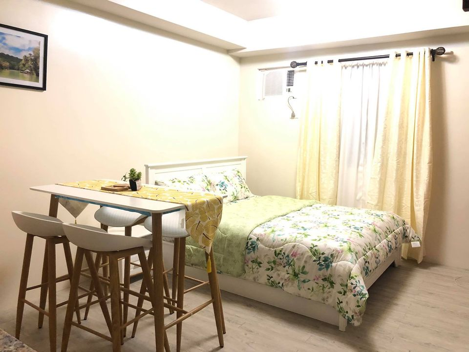 For Rent Furnished Studio Amaia Steps Mandaue City