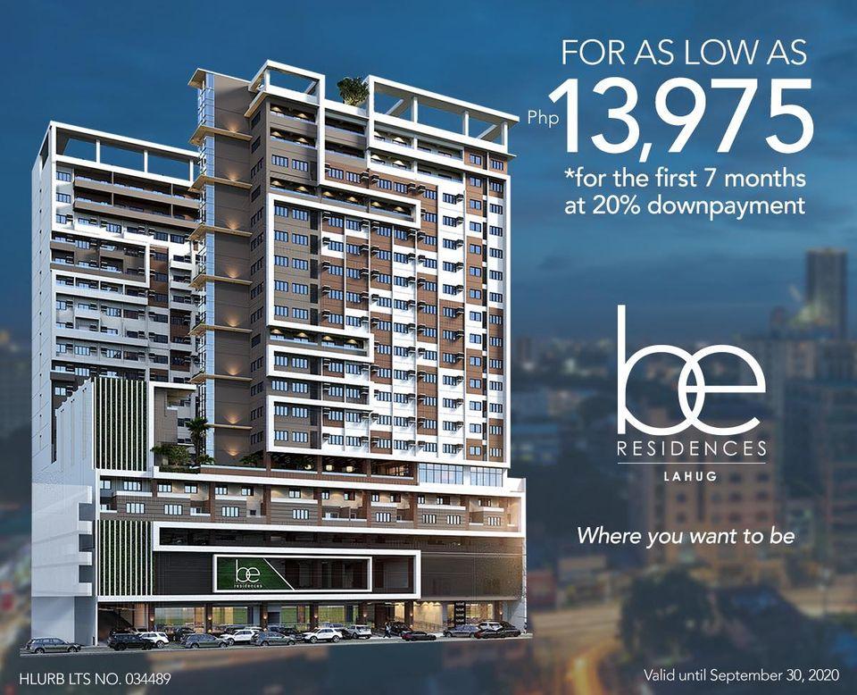 Be RESIDENCES Condo For Sale Lahug Cebu City