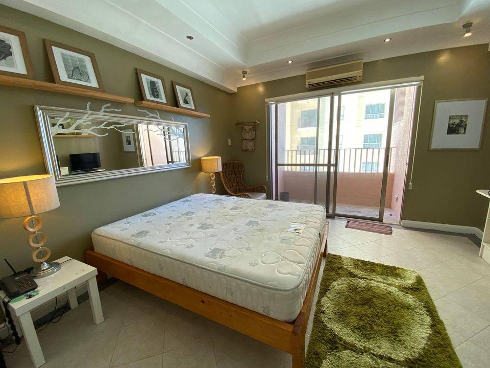 For Rent Furnished Studio w/ Balcony Movenpick Hotel Condo Mactan Cebu